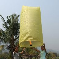 Giant Lantern Yellow
